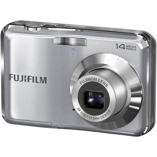 Fujifilm FinePix AV200 14 MP Digital Camera with Fujinon 3x Optical Zoom Lens (Silver)