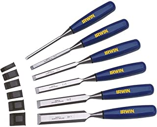 IRWIN Marples Chisel Set for Woodworking, 6-Piece (M444SB6N)