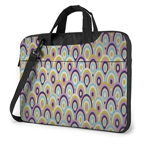 XCNGG Bolso de hombro Computer Bag Laptop Bag, Racket Business Briefcase Protective Bag Cover for Ultrabook, MacBook, Asus, Samsung, Sony, Notebook 15.6 inch