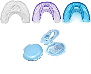 3 Pack Upgraded Version Teeth Trainer,Anti Snoring Nose Clip,Applied to Prevent Snoring,Teeth Retainer Anti Teeth Grinding and Clenching