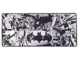 Subsonic Batman Tapis de Souris et clvier Antidérapant Finition Perlée Licence Officielle DC Comics Taille XXL 90 x 40 mm SA5589-B1