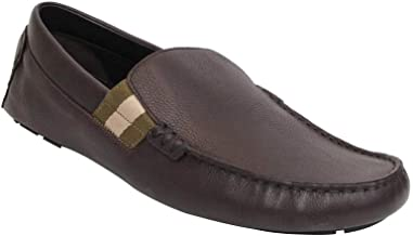 Gucci Men's Chocolate Brown Leather with Trademark Loafers 363835 2177 (11 G / 12 US)