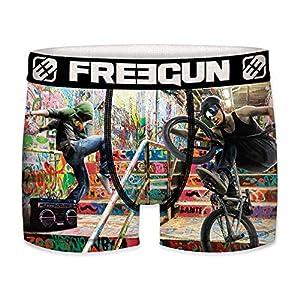 FREEGUN Boxer Infantil BMX Urban Sport-unitario-Talla 14/16 para Niños