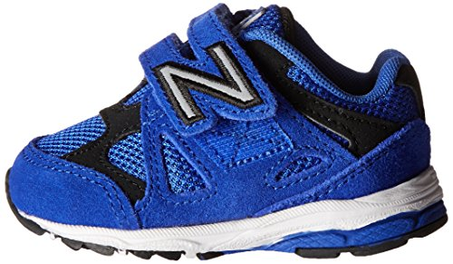 New Balance New Balance KV888V1 Infant Running Shoe (Infant/Toddler), Blue/Black, 18.5 W EU