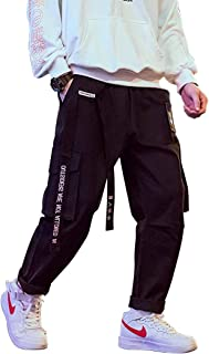 Aelfric Eden Mens Long Casual Cargo Pants Boys Girls Young Streetwear Pant Wild Women Loose Street Hip hop Sports