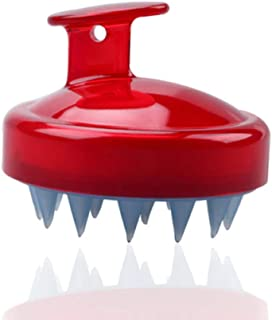 SILISCRUB - The Original Silicone Shampoo Brush (Red)