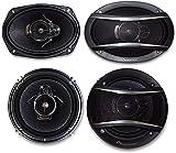2) Pioneer TS-A1676R 6.5' 3-Way + 2) Pioneer TS-A6966R 6X9 3-WayPIONEER CAR SPEAKER PACKAGE