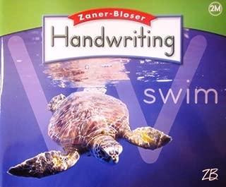 Zaner Bloser Handwriting: Grade 2, Manual