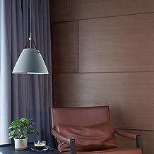 LED eenvoudige plafondlamp aluminium kroonluchter zwart grijs wit geel warm licht dining woonkamer studie slaapkamer corri...
