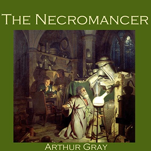 The Necromancer audiobook cover art