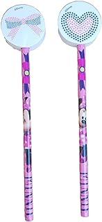Crayon Disney Souris 2 Pieces Minnie avec Caoutchouc CM 3D. H 20 - JK2125