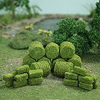 Blossom Hedges 5 x 3//8 x 5//8 H MP Scenery Products 70028 6//pk HO Scale