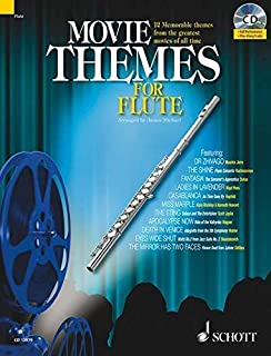 Movie Themes for Flute: 12 Memorable Themes from the Greatest Movies of All Time (Schott Master Play-Along) by Max Charles Davies (2008-08-01)
