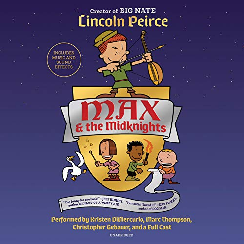 Max and the Midknights audiobook cover art