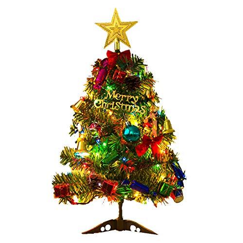Navidad Decoración Mesa Pino Marca Frgasgds