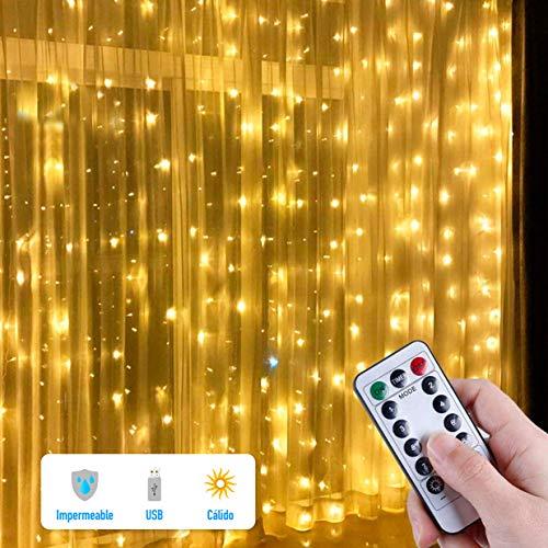 cortina luces navidad fabricante