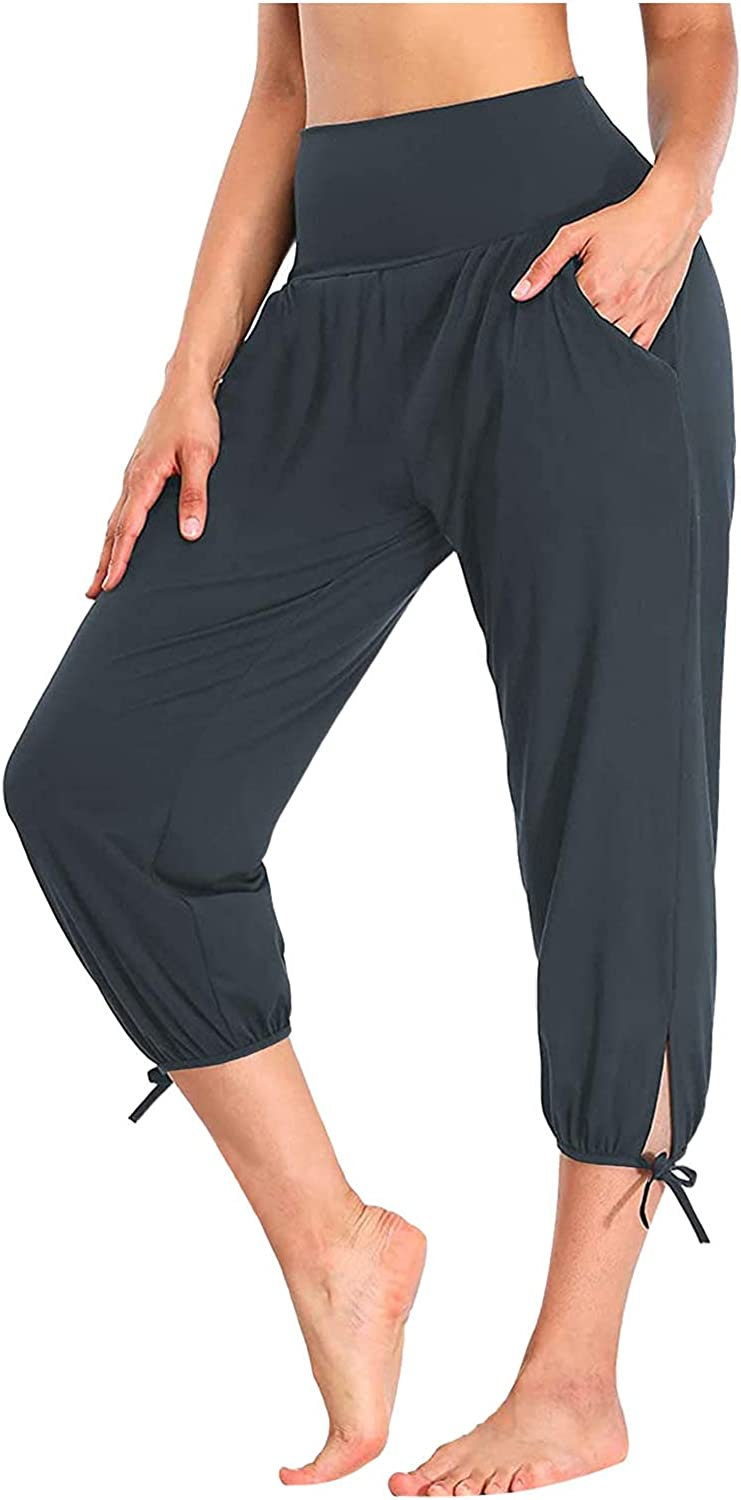 Meengg Yoga Pants for Women Workout Casual Shor Large discharge Max 60% OFF sale Sweatpants Loose