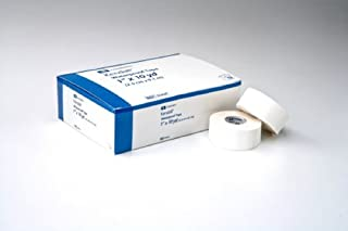 Kendall - Medical Tape Kendall - Waterproof Cloth 1 Inch X 10 Yard White NonSterile - 12/Box - McK