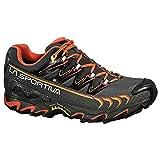 La Sportiva Women's Ultra Raptor GTX Trail Running Shoe, Grey/Coral,...