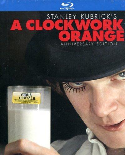 Arancia Meccanica - A Clockwork Orange (Limited) (Blu-Ray+Libro+Copia Digitale)