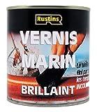 Rustins (YACV500) - Vernis Marin pour bois - Qualité supérieure - Incolore fini Brillant - 13m²/L - 500ml