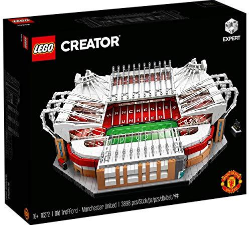 """Lego - Set di Costruzioni Linea Creator Expert, per Modello dello Stadio da Calcio """"Old Trafford"""" del Manchester United, Codice dell'Articolo: 10272"""