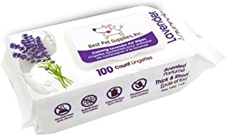 Pet Grooming Wipes for Dogs and Cats | Hypoallergenic and...