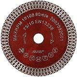 PRODIAMANT Disco da taglio diamantato Fliese Turbo 75 mm x 10 mm, adatto per Bosch GWS 10,8 – 76 V-EC Professional 76 mm