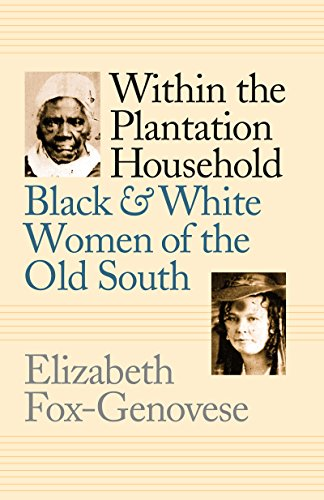 Download Within the Plantation Household: Black and White Women of the Old South (Gender & American Culture) 080784232X