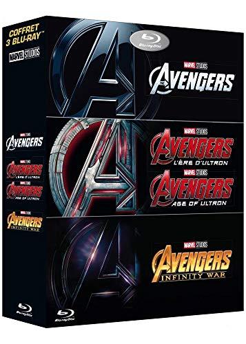 Avengers + Avengers: L'ère d'Ultron + Avengers: Infinity War [Blu-ray]