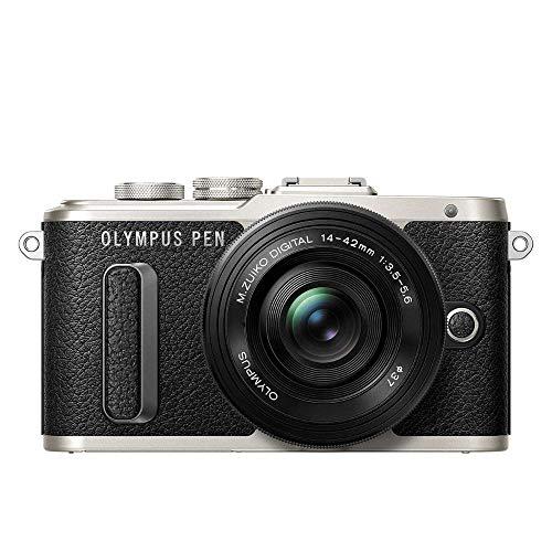 Olympus PEN E-PL8 Kit, Micro Four Thirds Systemkamera (16 Megapixel, Bildstabilisator, elektronischer Sucher, FHD Video) + M.Zuiko 14-42mm EZ Zoomobjektiv, schwarz