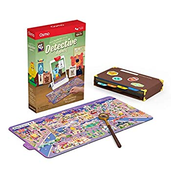 Osmo - Detective Agency - Ages 5-12 - Solve Global Mysteries - STEM Toy - For iPad or Fire Tablet  Osmo Base Required