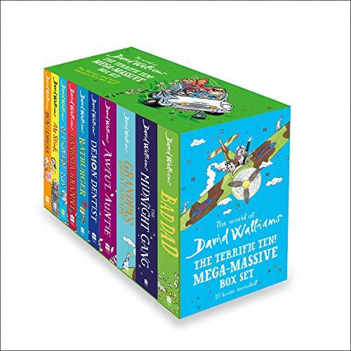 The Terrific Ten: Mega-Massive Box Set: From multi-million bestselling author David Walliams