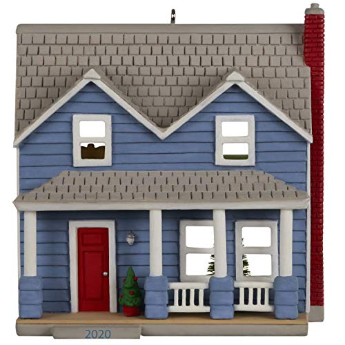 Hallmark Keepsake Christmas Ornament 2020 Year-Dated, Nostalgic Houses and Shops Traditional Clapboard Two-Story Home