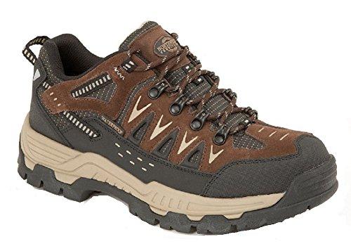 Northwest Territory Chaussures Montantes Pour Homme - Marron - Piers Low Brown, 41 EU