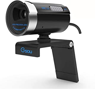 no logo MiMoo 1080P Full HD Webcam, 12.0 Megapixel with Microphone(with Switch) Stream Webcam for Video Conferencing Home/...