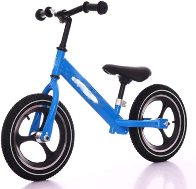 los nuevos estilos calientes SBKD Scooter Scooter Scooter para Niños Equilibrio De Dos Ruedas Coche Sin Pedal Inercia Bicicleta Andador Bicicleta De Equilibrio para Niños (Color   Azul)  comprar descuentos