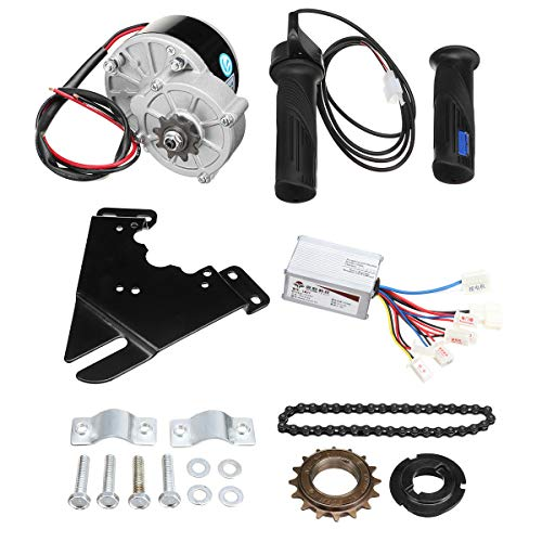 C-FUNN Kit De Controlador De Motor De Scooter De Conversión De Bicicleta...