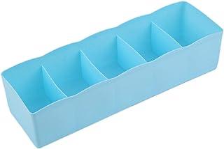 healthwen Cinco Rejillas, Ropa Interior multifunción, Calcetines, Cosas pequeñas, Caja de Almacenamiento, Caja de Acabado ...