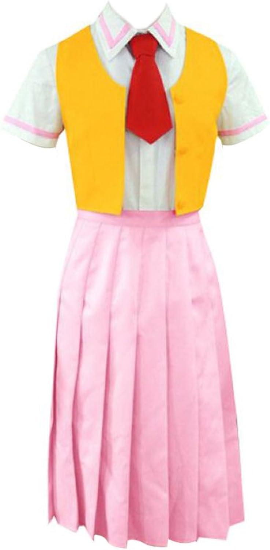 Dream2Reality japanische Anime Higurashi(when they cry) Cosplay Kostuem  Mion Sonozaki School Uniform 1st Ver Kid Size Large