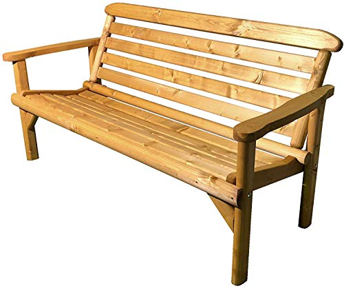 Photo of Anchorfast Simply Wood Ceremony Plus 5Ft (3 Seater) Wooden Garden Bench – !!! SALE !!!