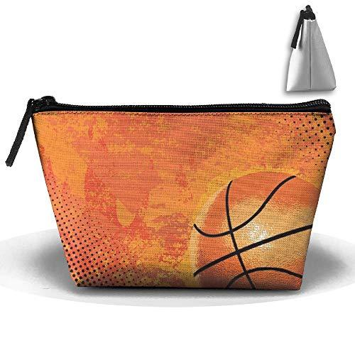 Portable Makeup Bag Organizer Travel Magic 3D Printing Basketball3 Cosmetic Bags Brush Storage Pouch for Women Purse Makeup kit Bag