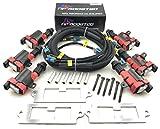 LQ9 Ignition Coils Conversion Bracket Wire Harness Kit for Aristo Supra 2JZ 2JZGTE 2JZ-GTE Twin Turbo