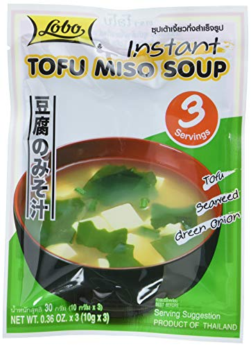 Lobo Instant Tofu Miso Suppe, 12er Pack (12 x 30 g)