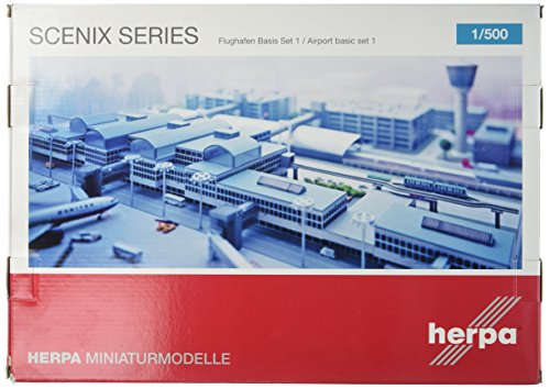 herpa 520362 - Flughafen Basis Set 1