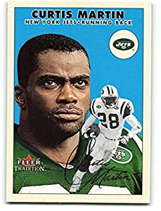 2000 Fleer Tradition #67 Curtis Martin NM-MT New York Jets Football