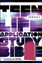 NLT Teen Life Application Study Bible, Compact Edition (LeatherLike, Pink)