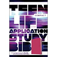 NLT Teen Life Application Study Bible, Compact Edition (LeatherLike, Pink)