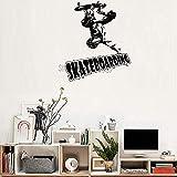 zhuziji Safari Tier Wandaufkleber Wallartteen Sport Hauswand Auf Skateboard Tourpvc Wasserdichter...