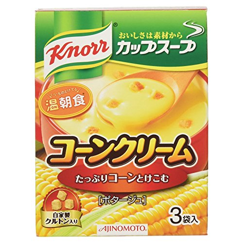 味の素『クノールカップスープコーンクリーム』